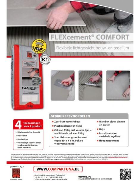 Compaktuna flexcement comfort