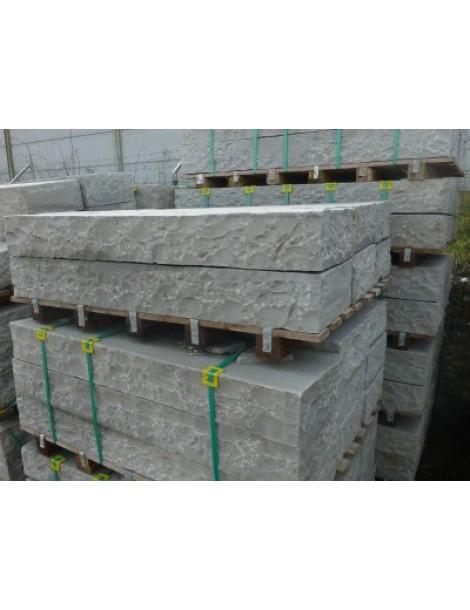 Candela grey traptreden 125x35x15cm