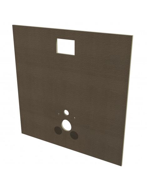 Isox hangtoilet kit 120x120x2cm